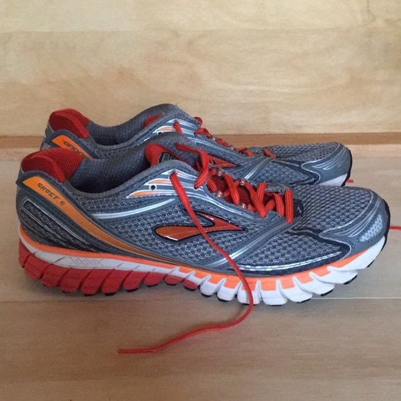 5dc24c1fd74 Brooks Other - Brooks Ghost 6 Men s Size 11 M Orange Gray Silver